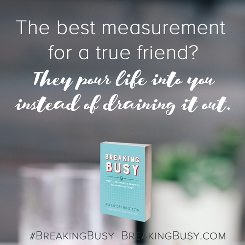 Breaking+Busy+Book.+The+best+measurement+of+a+true+friend.+Alli+Worthington