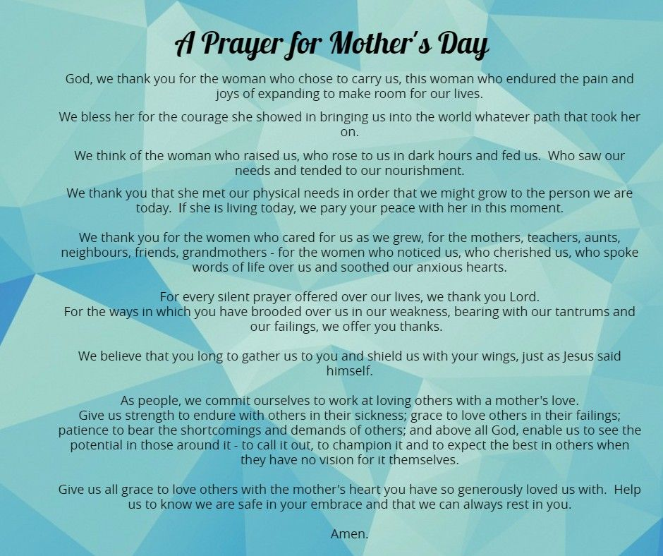 A Mother's Day Reflection for ALL Women – ESTHER and FRIENDS